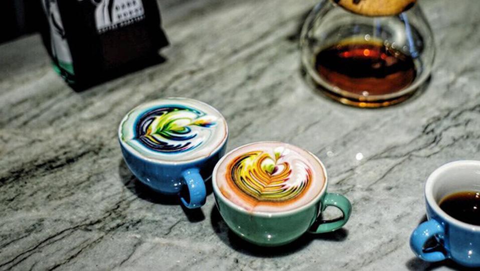 Kunst und Kaffee